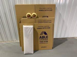 Moving pack medium cardboard adelaide packaging