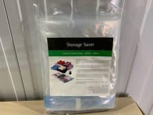 adelaide self storage vacuum bag